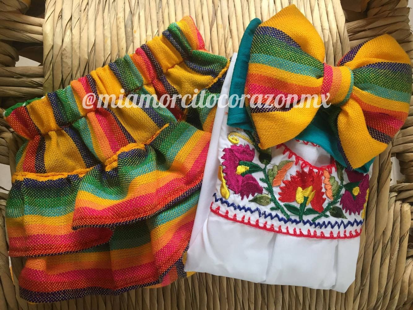 Mexican outfit baby bloomer and top mexican party first birthday day ...