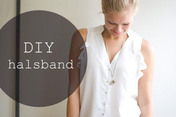 DIY: Halsband med fingerborg
