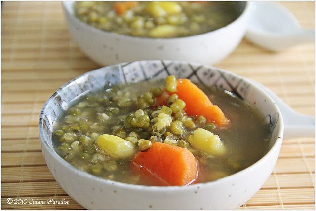Cuisine Paradise | Singapore Food Blog | Recipes, Reviews And Travel: Green Bean Soup With Sweet Potato
