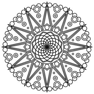 Tons Of Printable Mandala Designs Free For Download Print These Mandala Mandala Desenler Cizim