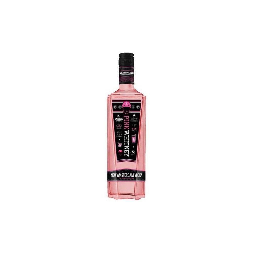 New Amsterdam Pink Whitney Vodka 750ml Bottle Amsterdam Vodka