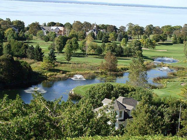 Gardens and Golf Course of the Grand Hotel, Mackinac Island MI