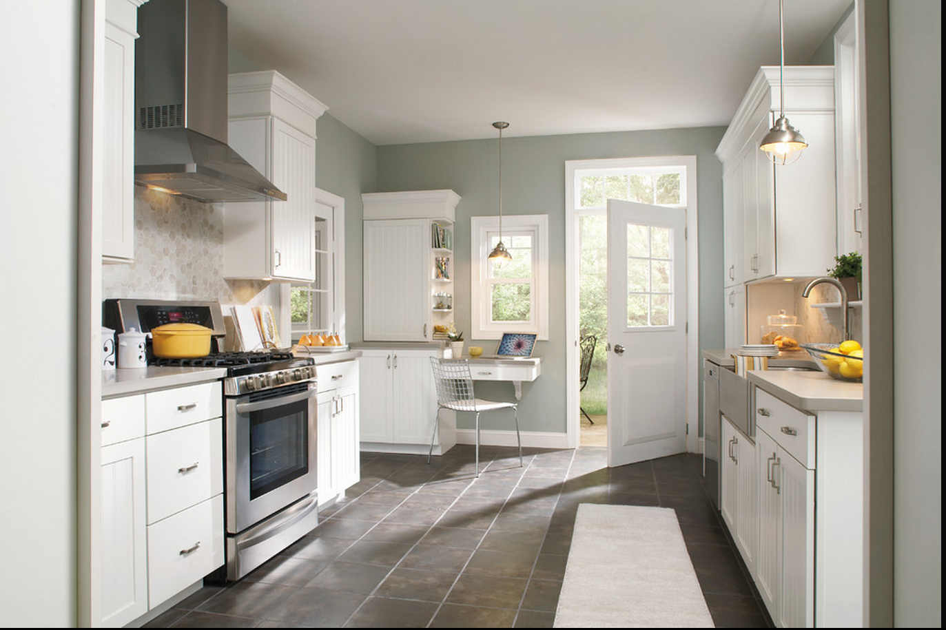 Sherwin Williams Paint Slow Green Good Kitchen Color