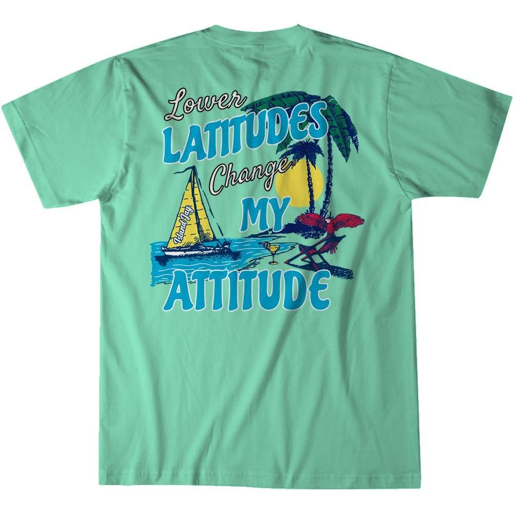 Island Jay The Lower The Latitude T-Shirt
