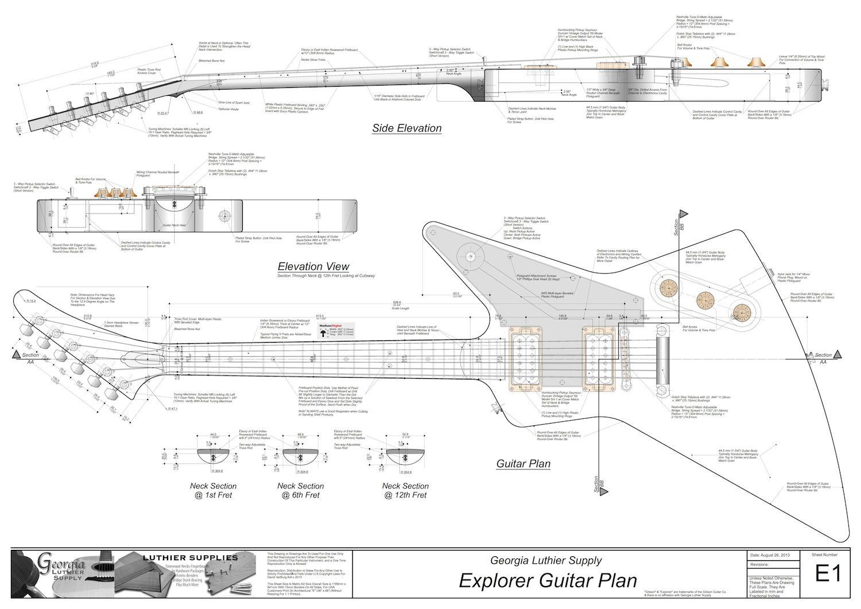 solid body electric guitar plan 17 electronic version [ 1500 x 1061 Pixel ]