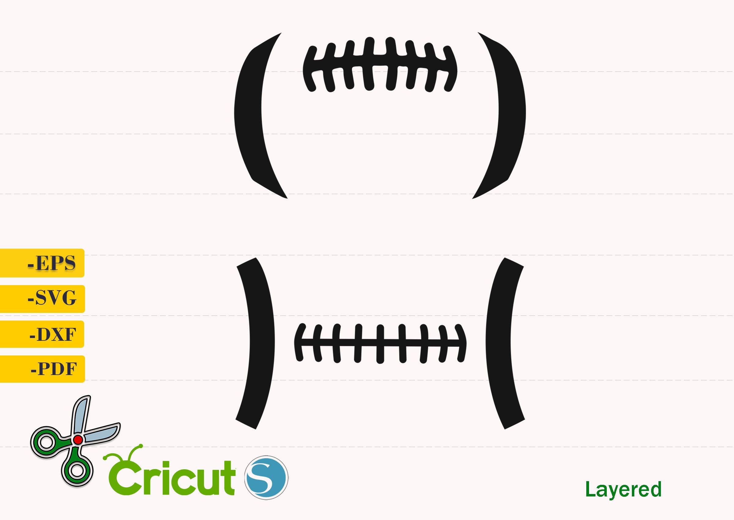 Football Laces Svg Football Ball Silhouette Football Laces Png Football Laces Cricut Football Outline Vect Lace Stencil Football Outline Stencil Templates