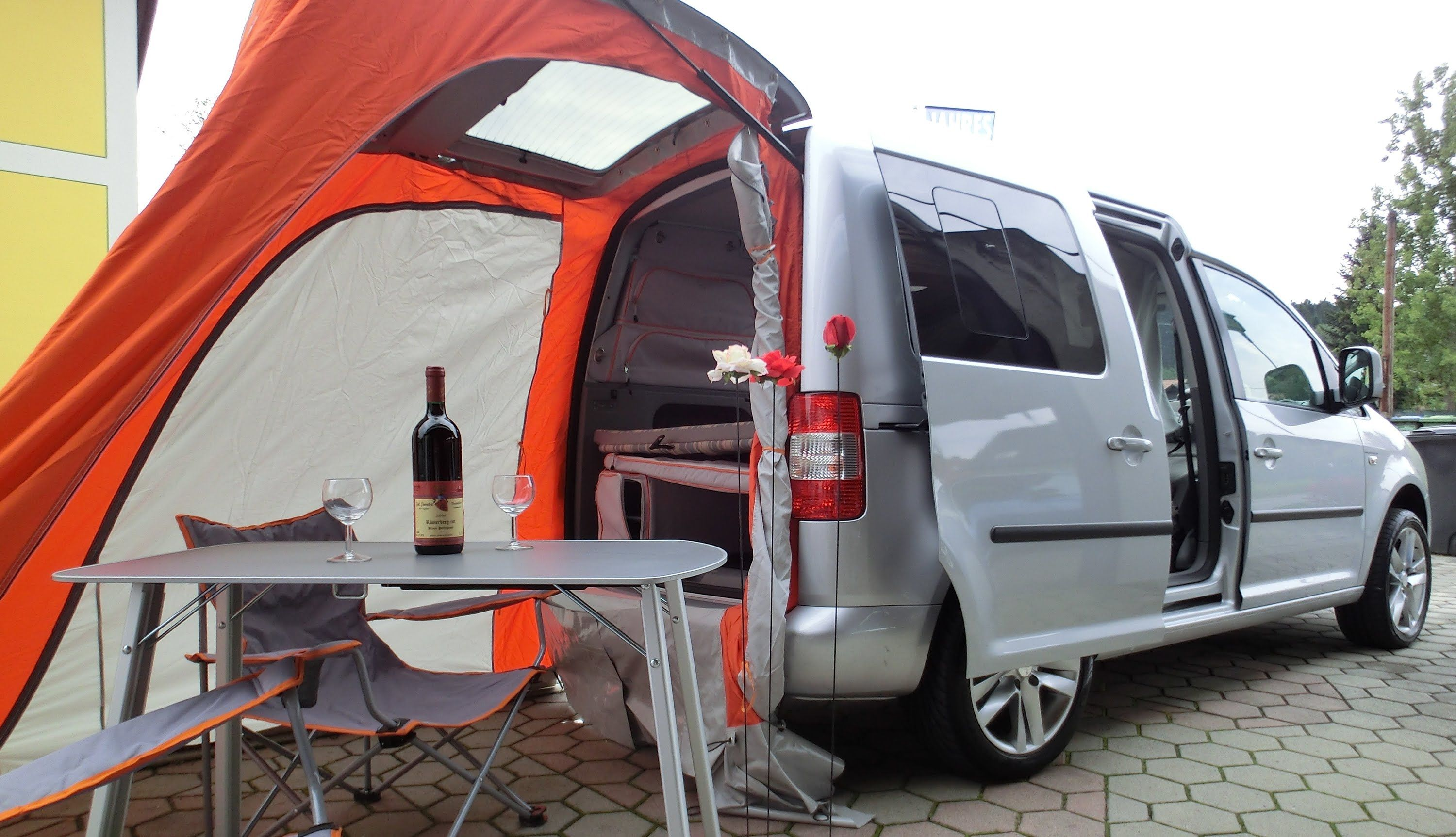vw caddy life tramper ecofuel vw camping pinterest. Black Bedroom Furniture Sets. Home Design Ideas