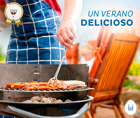 Un #verano delicioso se disfruta comiendo al aire libre.