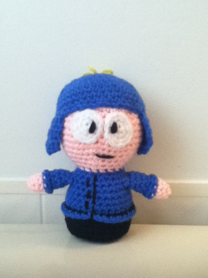 "Crochet Amigurumi ""South Park"" Craig Inspired Doll by ShimmereeCreations on Etsy #etsy #crochet #amigurumi #southpark #craig #doll"