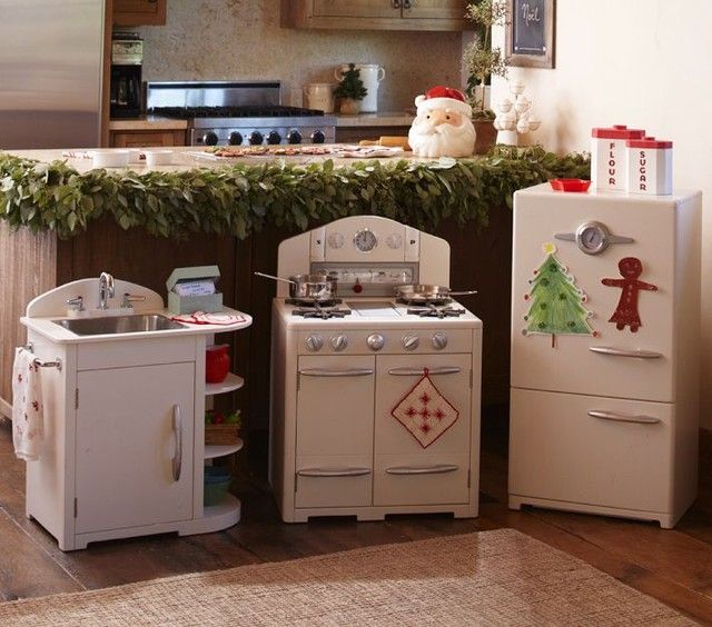 Pottery Barn White Retro Kitchen Collection. LOVE. | Retro and ...