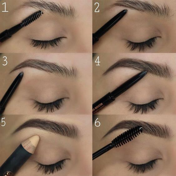 25 Step-by-Step Eyebrows Tutorials to Perfect Your Look ...
