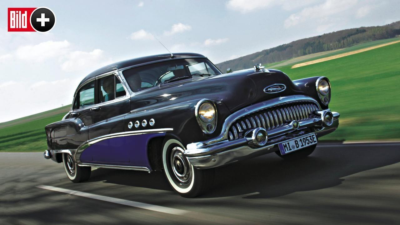 *** BILDplus Inhalt *** Buick E-Roadmaster - Dieser Oldie ist ein E-Auto!