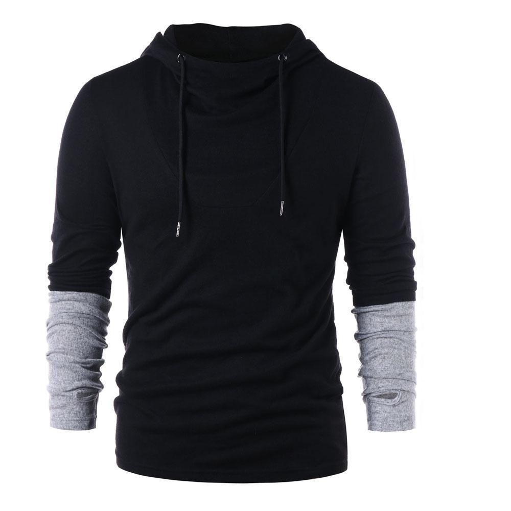 15 99 Steampunk Goth Men Slim Fit Pullover Hoodies Thumb Hole Long Sleeve Sweatshirts Steampunk Pullo Mens Sweatshirts Hoodie Black Hoodie Hoodies Men [ 1000 x 1000 Pixel ]