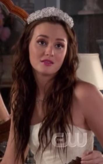 I Want Blair Waldorf S Wedding Hair Every Day Gossip Girl Gossip Girl Fashion Blair Waldorf Wedding