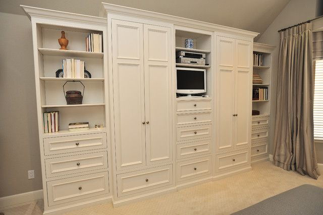 Bedroom Wall Units, Large Wall Storage Units With Doors