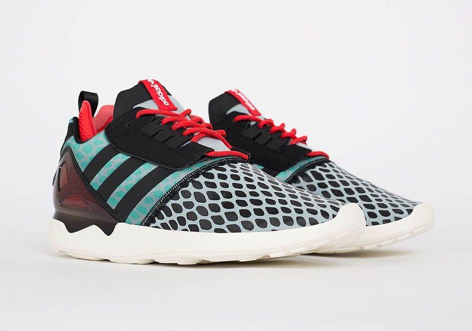 adidas-zx-flux-color-splash-3 | I Love Shoes!!! | Pinterest | Adidas zx flux,  Adidas ZX and Zx flux
