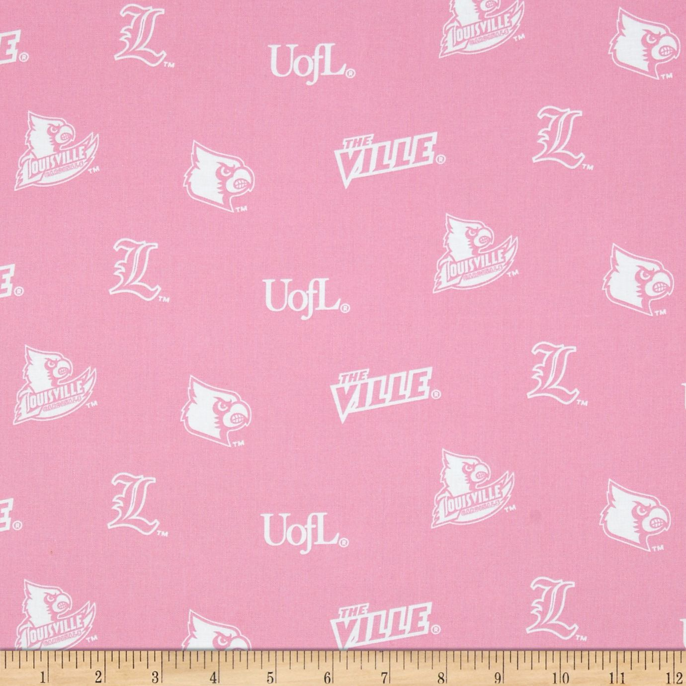 Pink Scooter on white 100/% Cotton Quilting Craft Fabric fun