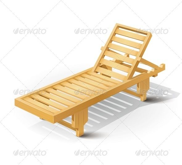 Wooden Beach Bed Graphicriver