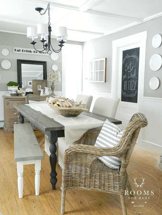 D Grey Walls Rooms For Rent Dining Room Design Home Decor