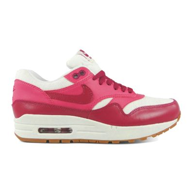 huge selection of f7ac7 d9a1b Nike Womens Air Max 1 Vintage in Sail Sport Fuschia Pink