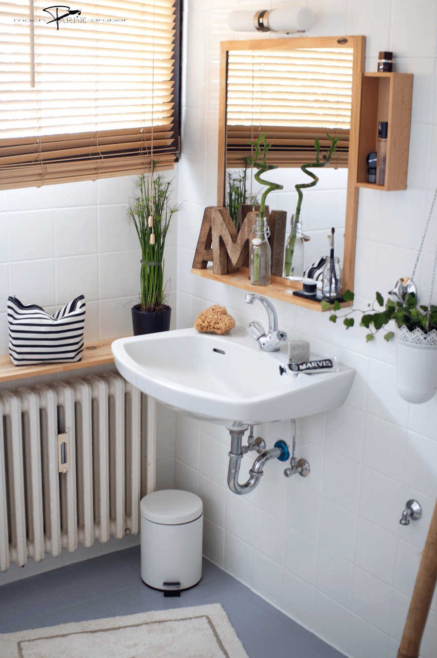 Badezimmer Vorher Nacher Renovieren Mit Fliesenlack In 2020 Fliesenlack Fliesen Haus Fliesen