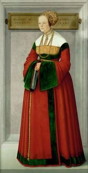Portrait of a Woman  1525  Christoph Amberger