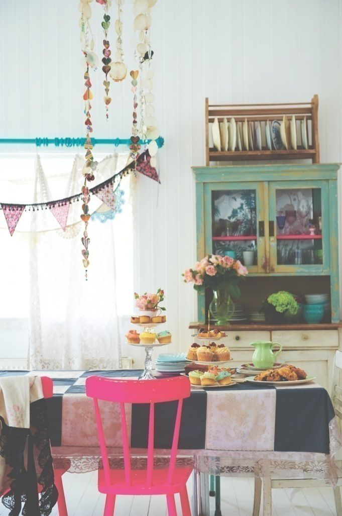 Photo of Patchwork Lace Tablecloth