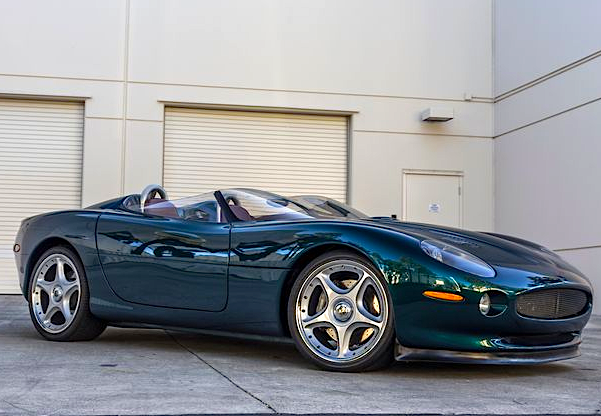Attrayant 1998 Jaguar Xk180 Concept