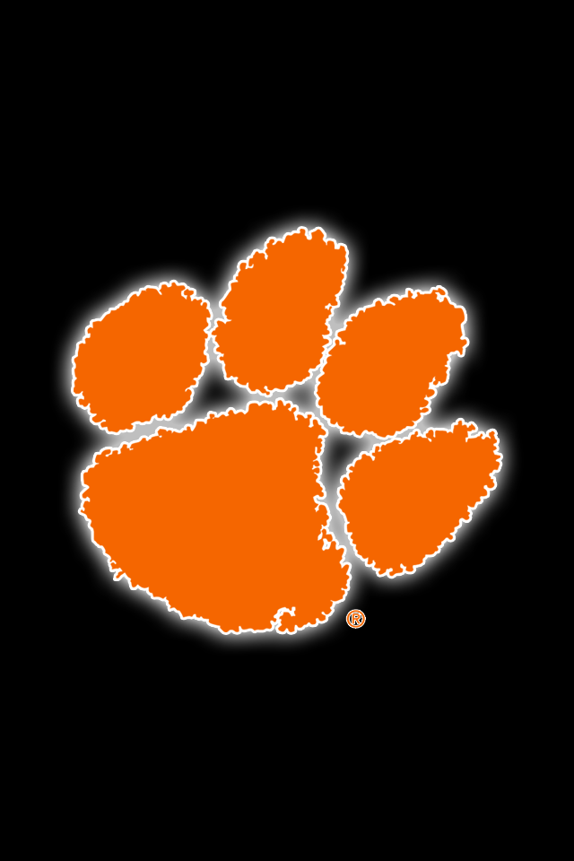 Set Of 24 Clemson Tigers Iphone Wallpapers Clemson Wallpaper Clemson Clemson Tigers Football