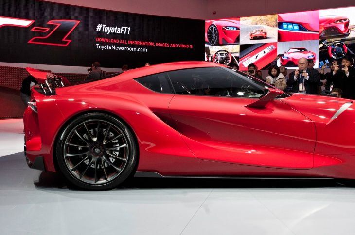 Delicieux Ft1 Toyota | Toyota FT1 Concept Exterior | Concepts We Love:Toyota FT1 |  Pinterest | Toyota And Cars
