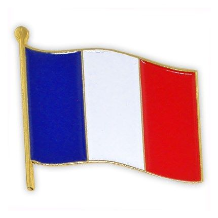 French Flag Pin World Flag Pins Pinmart Flags Of The World French Flag Flag Pins