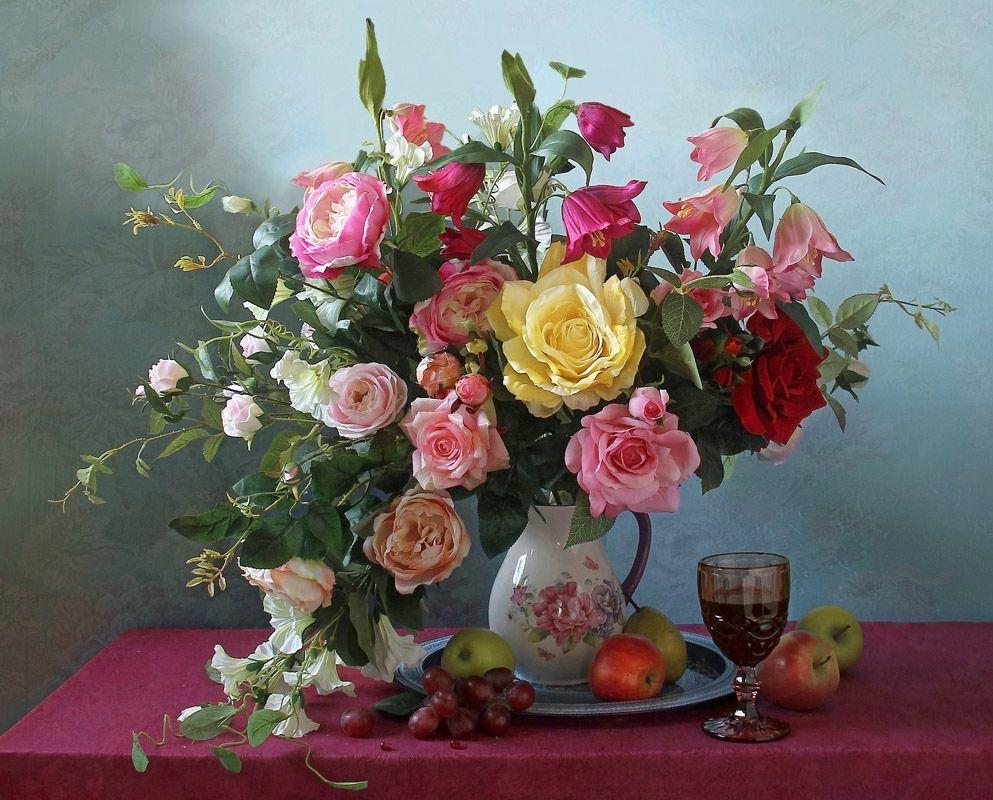 чудесные цветы картины фото диктует