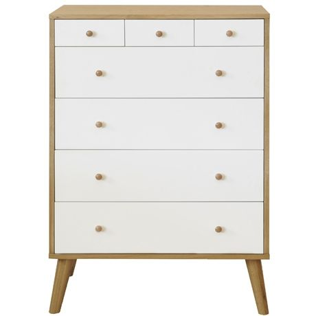 Oslo 7 Drawer Tallboy | Freedom Furniture And Homewares