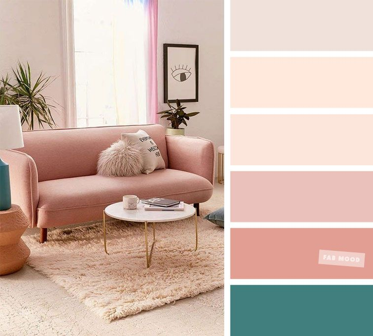 Blush Peach The Best Living Room Color Schemes In 2020 Good Living Room Colors Living Room Color Schemes Room Color Schemes #peach #color #for #living #room