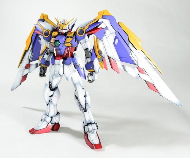 Mg 1 100 Wing Gundam Ver Ka Modeled By ōå… Gundam Gundam Toys Gundam Mobile Suit