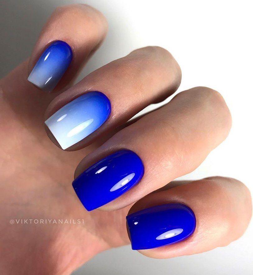 Пин от пользователя Inessa Loongoo на доске Blue nails в ...