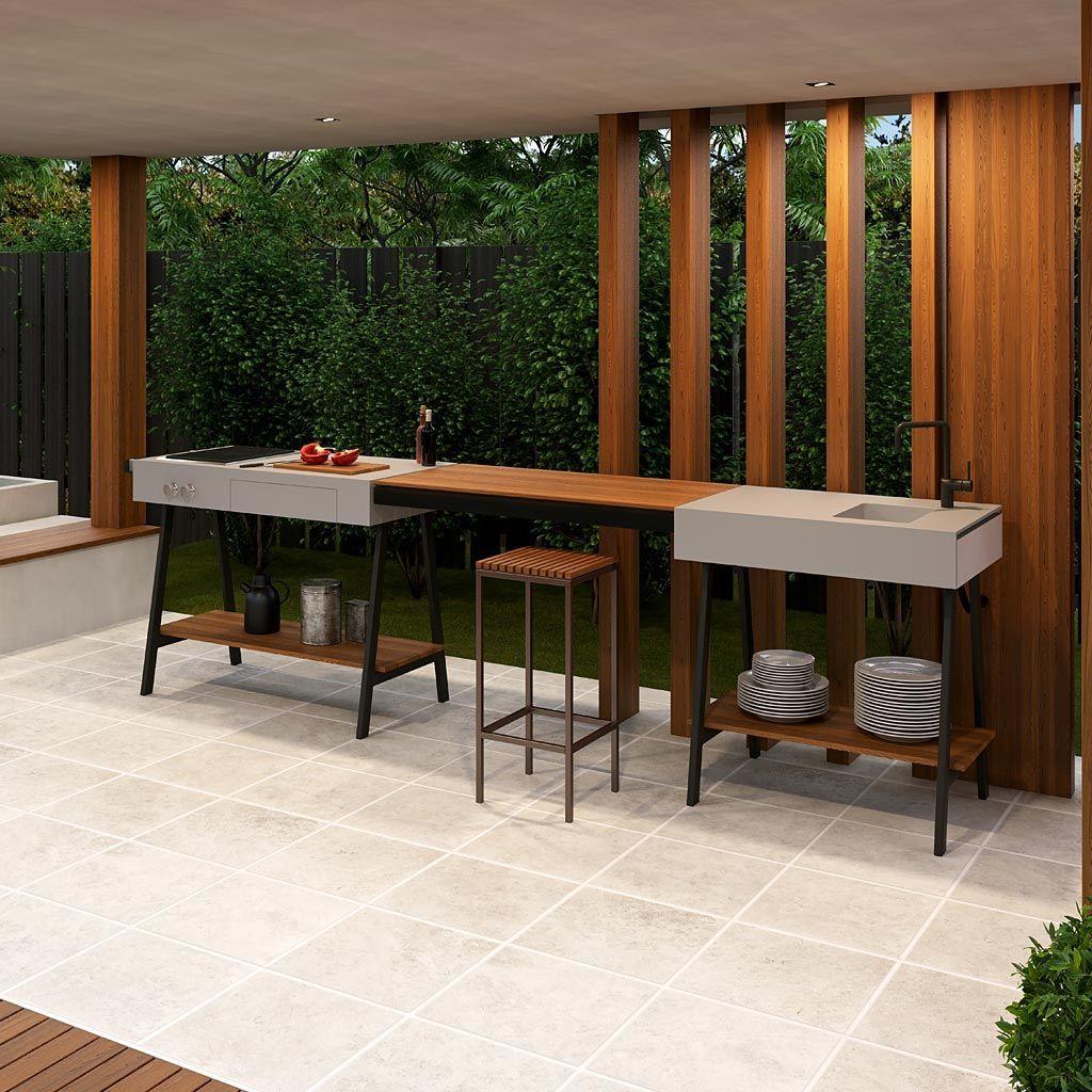 Viteo Adapt Modern Outdoor Kitchen Luxury Quality Outdoor Kitchen Materials Modular Outdoor Modern Outdoor Kitchen Outdoor Kitchen Modular Outdoor Kitchens