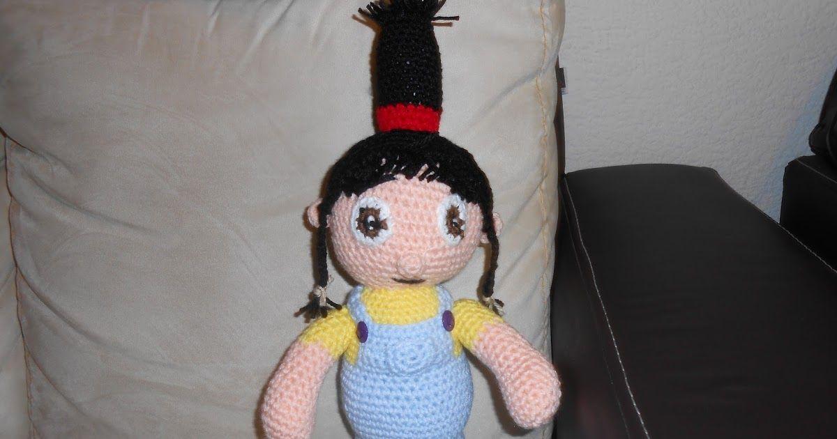 Amigurumi Crochet Personajes : Agnes amigurumi mi villano favorito personajes peli y disney