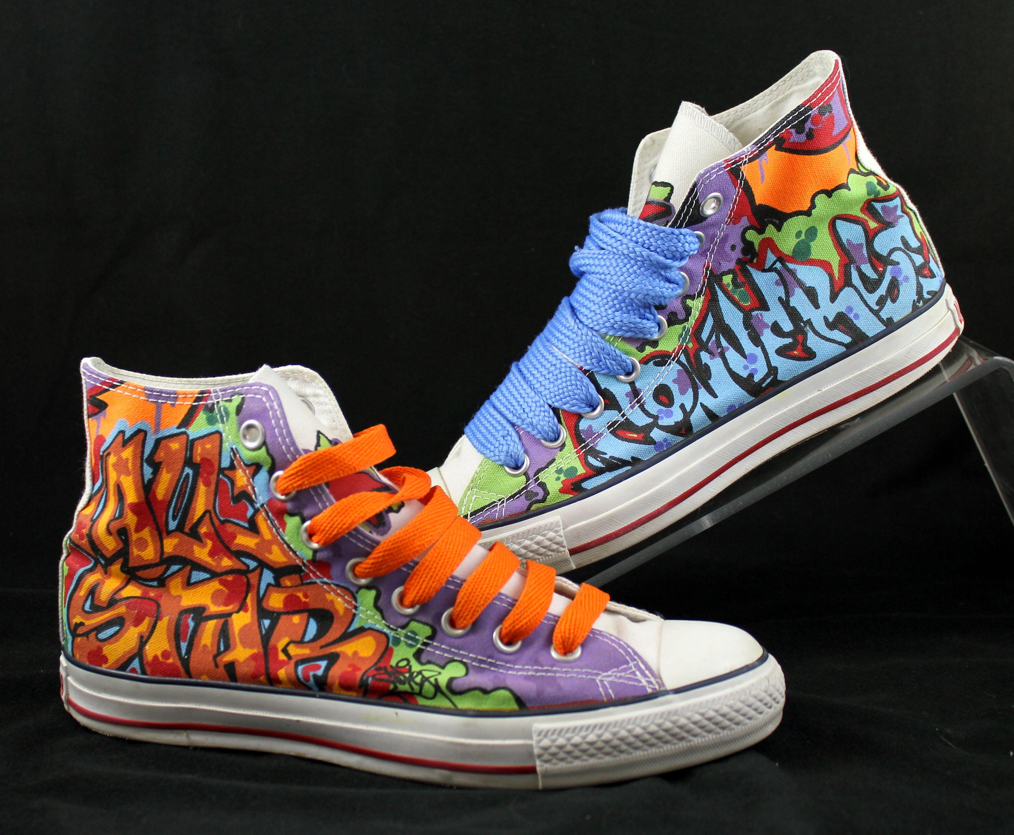 ConverseRandomx ShoesCustom Graffiti ShoesCustom Sneakers Sneakers Graffiti ConverseRandomx bgyfY76