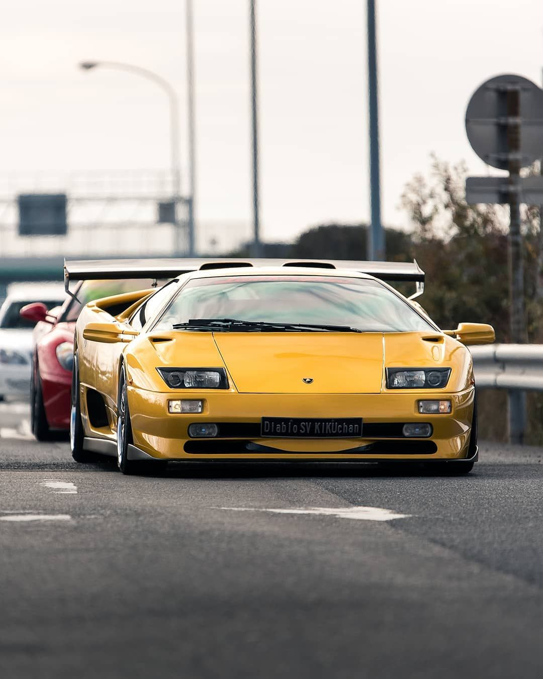 Diablo Sv After Undergoing Some Japanese Surgery Lamborghini