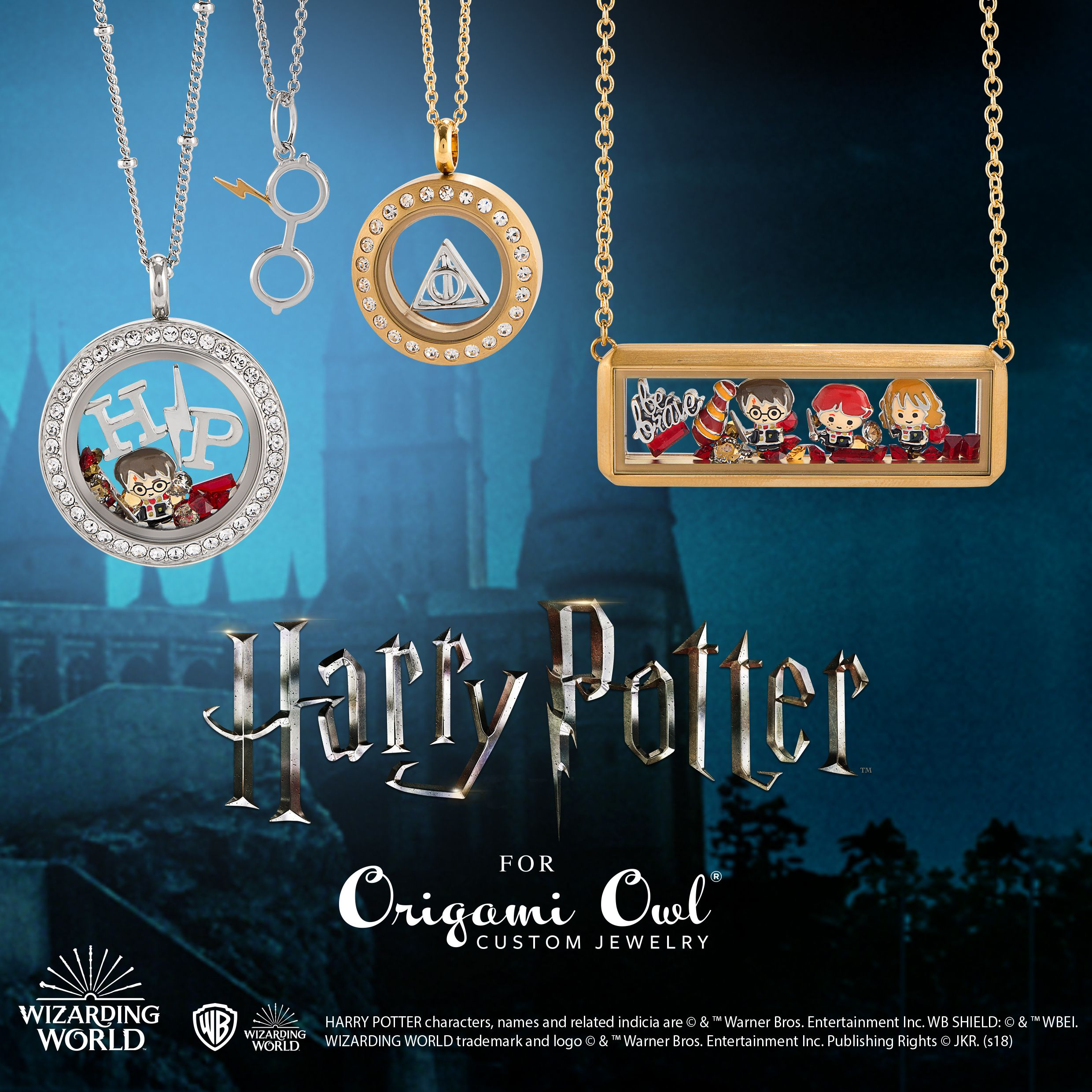 Harry Potter Harry Potter Character Necklace