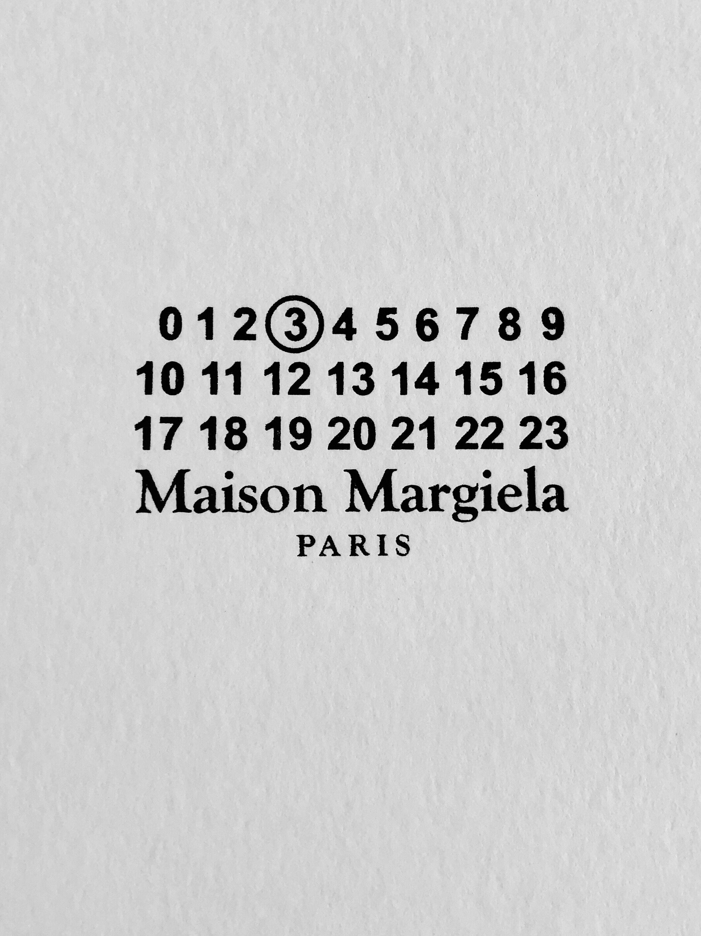 hot sale online 6d5b4 22468 Maison Margiela `Replica' logo wallpaper photography ...
