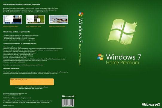 window 7 home premium product key