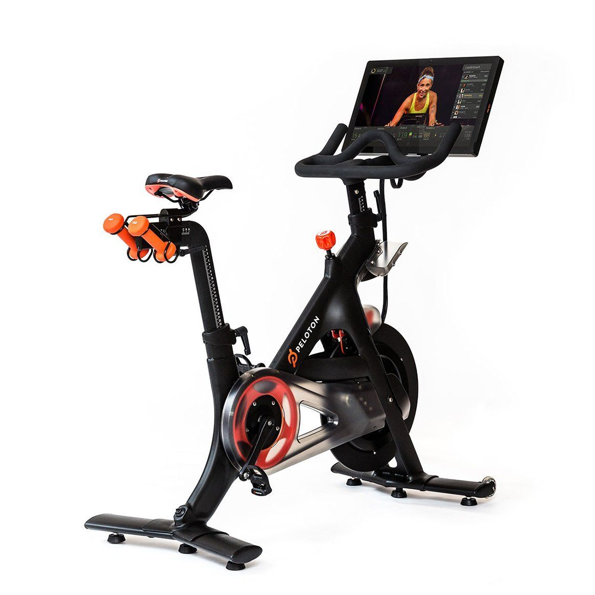 Amazon Com Peloton Indoor Exercise Bike With Hd Touchscreen Sports Amp Outdoors Biking Workout Indoor Bike Workouts Peloton Cycle