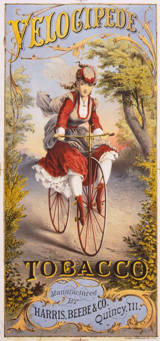 Velocipede~Tobacco 1874