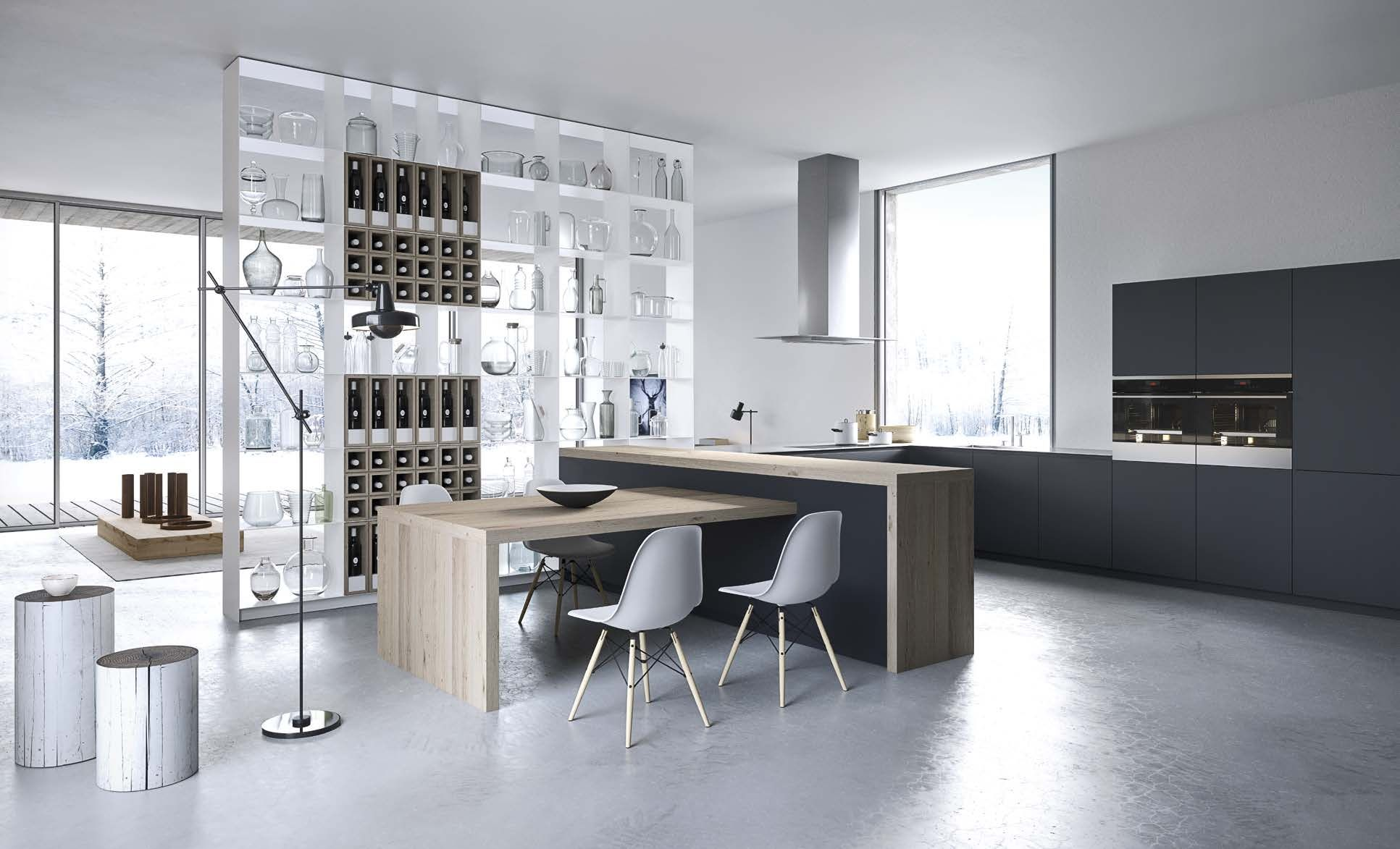 The Cut Kitchen - a full view of the #kitchen #home #design