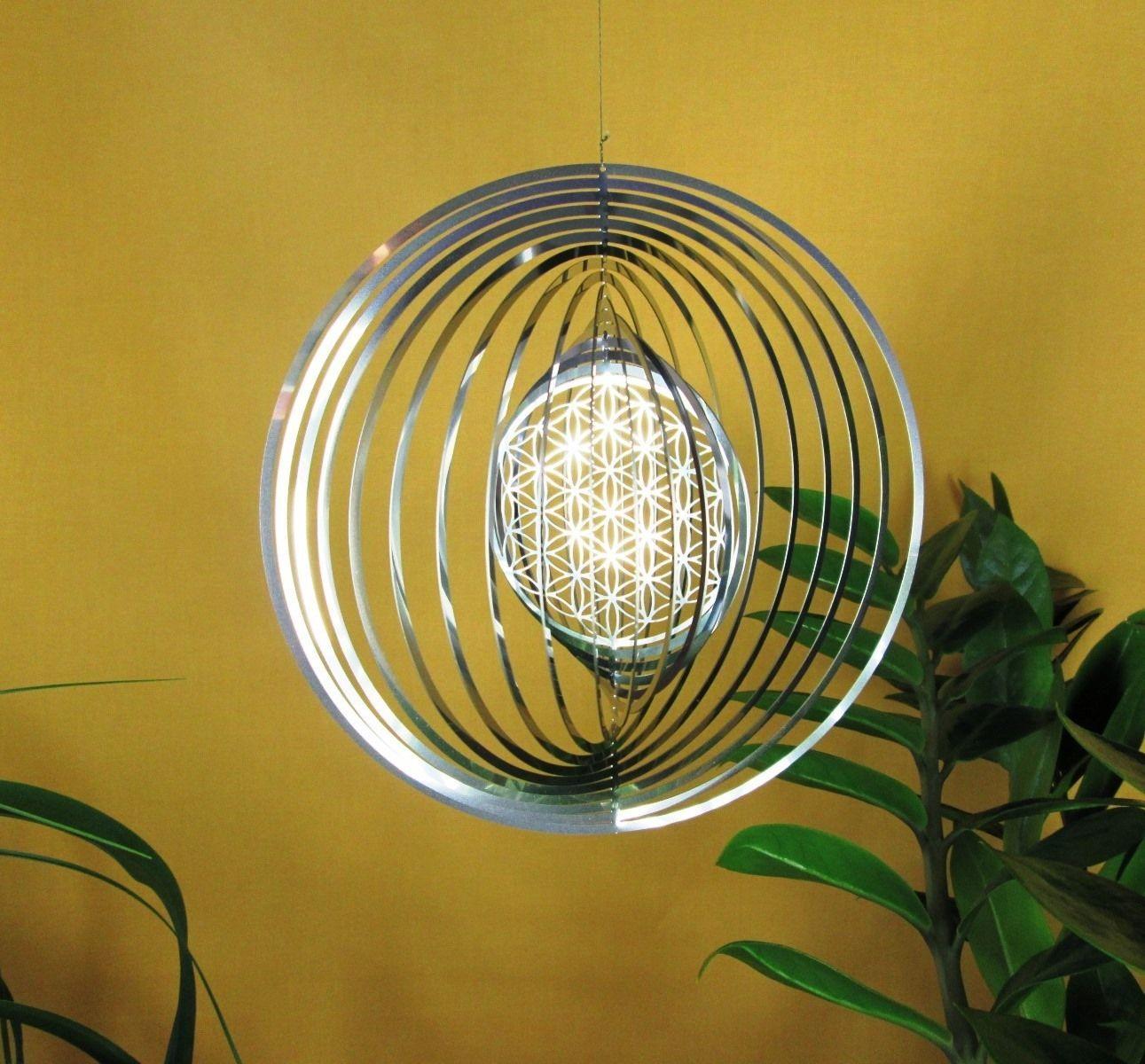 Feng Shui Spirale winddancer spirale blume des lebens windspiel feng shui wind