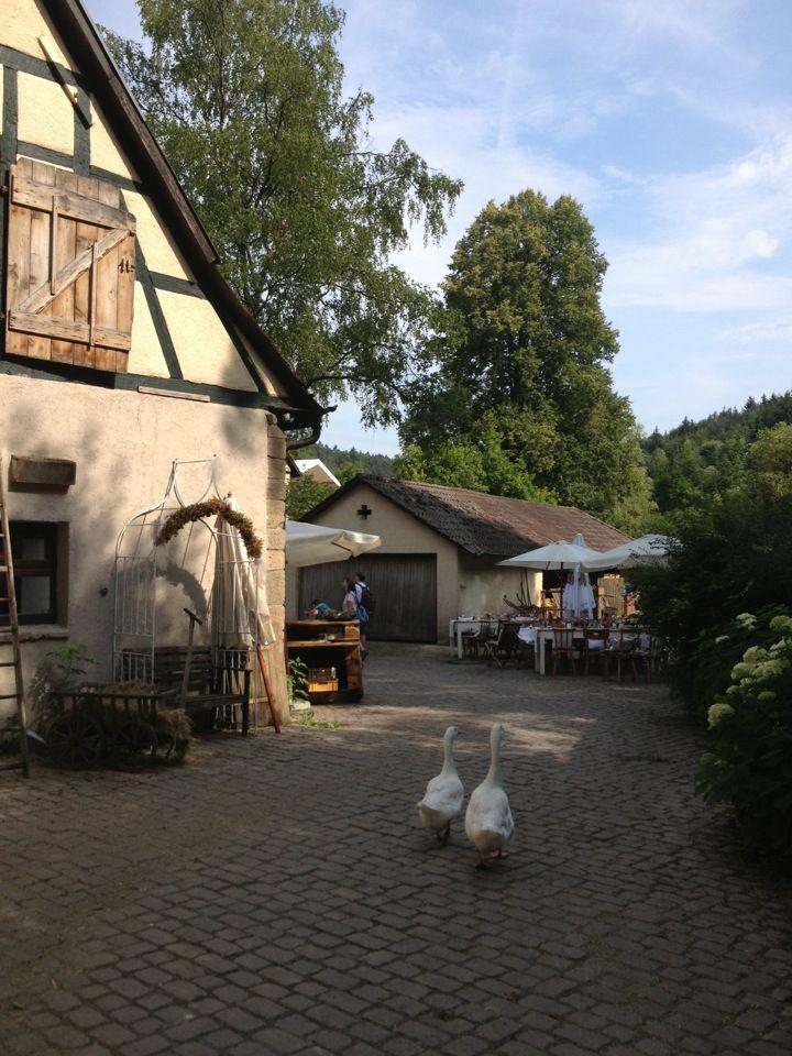 Eselsmuhle Leinfelden Echterdingen Baden Wurttemberg Windmuhle Muhle Wurttemberg