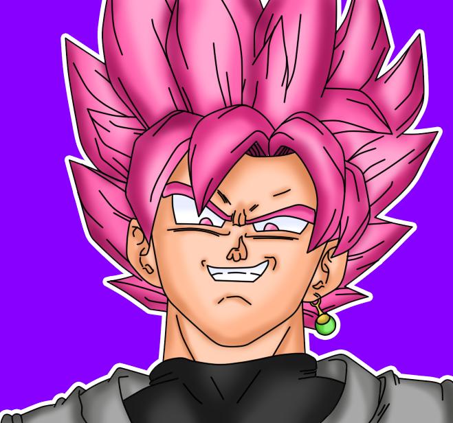 Tiene Sentido El Color De la Trasformacion De Black Goku  Black