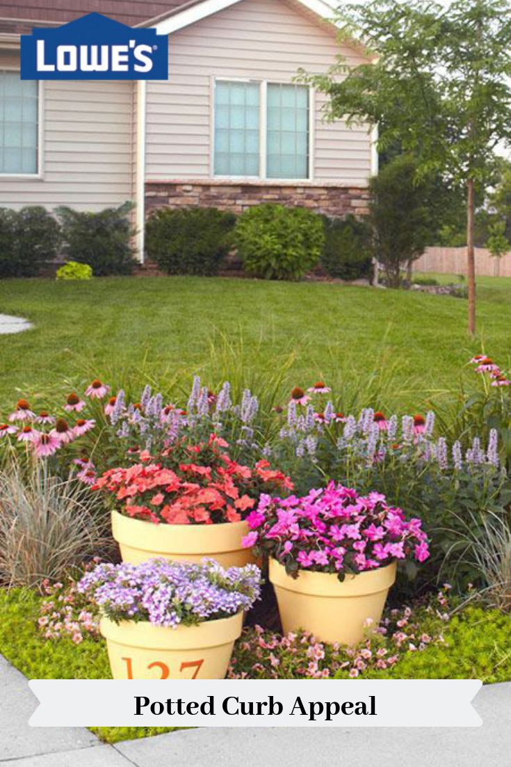Put A Colorful Garden To Work In Your Front Yard Bright Flower